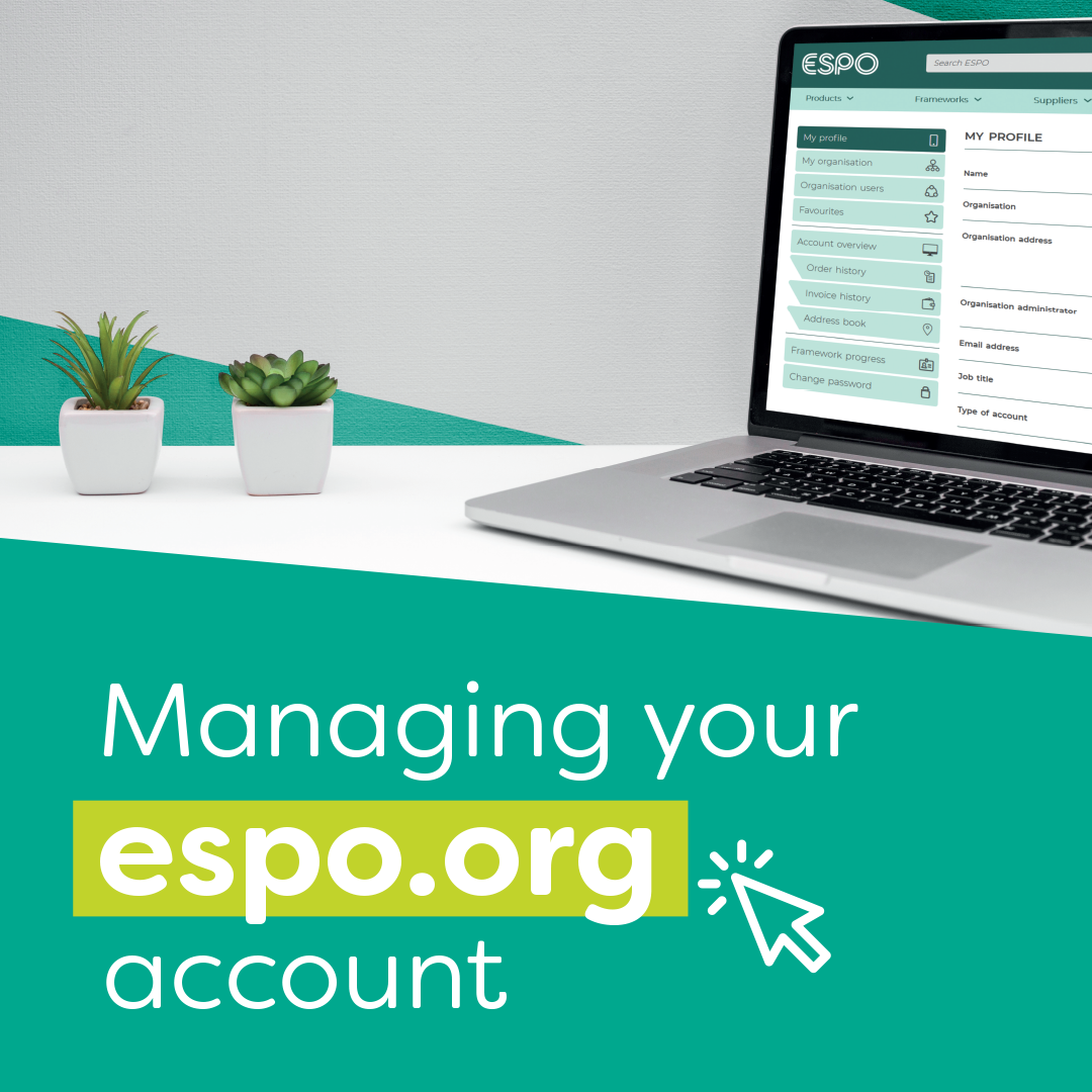 Managing your account