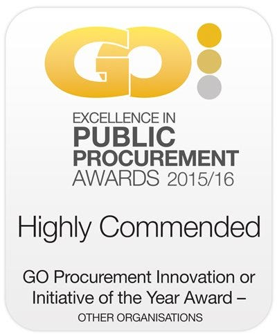 Honoured for excellence in procurement - GO awards