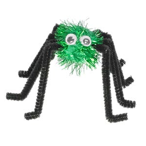 Hallowe'en Spider - seasonal craft how to guide