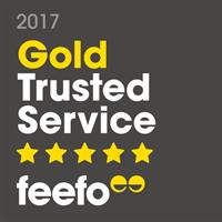 ESPO wins Feefo Gold Trusted Service Award 2017