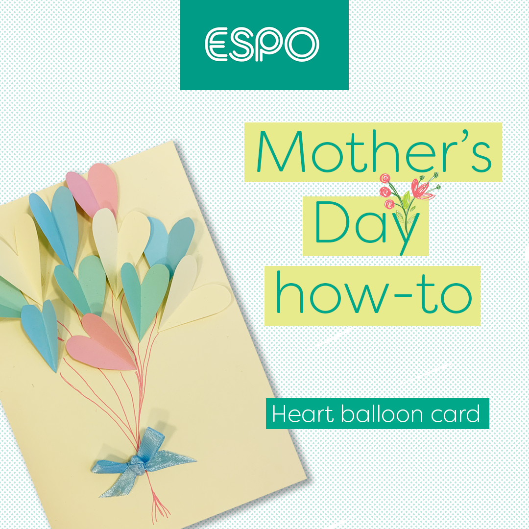 A card craft for Mother's Day