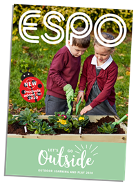Get outside! Our Outdoor Learning and Play brochure
