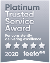 ESPO wins the Feefo Platinum Trusted Service award