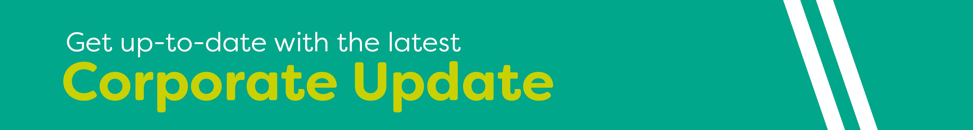 Corporate Update header banner