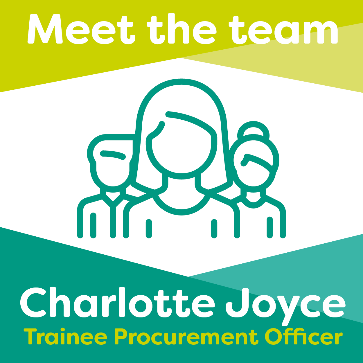 Meet Charlotte Joyce, one of our Trainee Procurement Officers