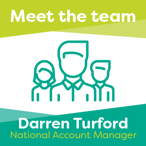 Meet Darren Turford, one of our National Account Managers