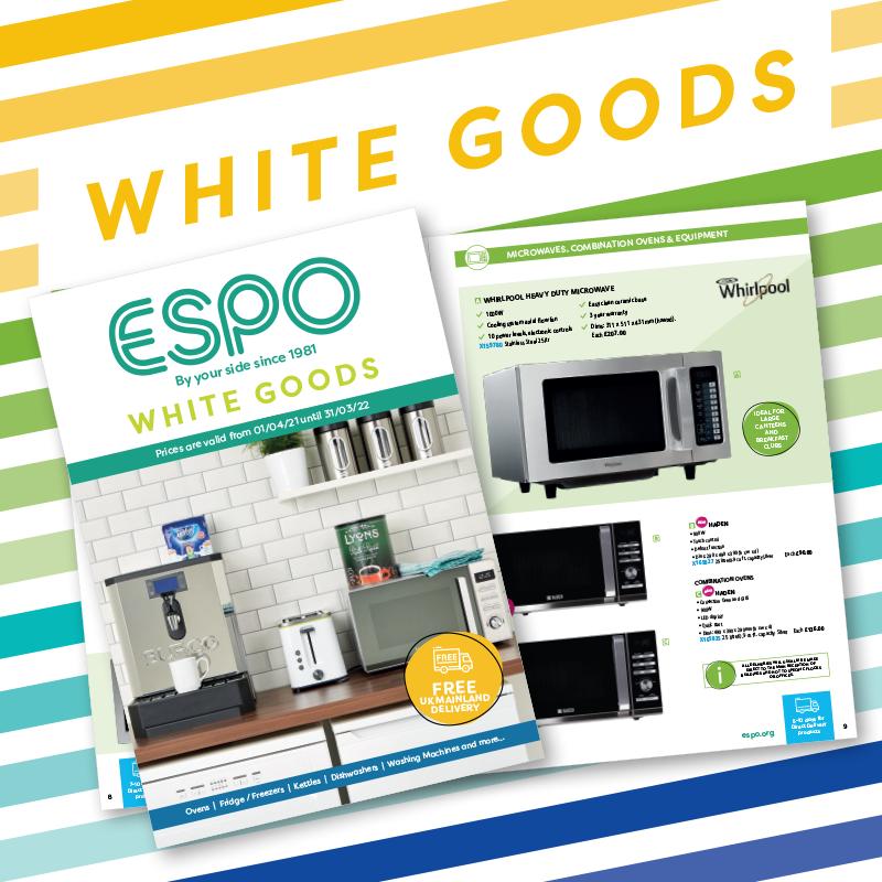 ESPO White Goods Catalogue 2021/22