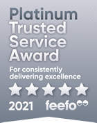 ESPO wins the Feefo Platinum Trusted Service award